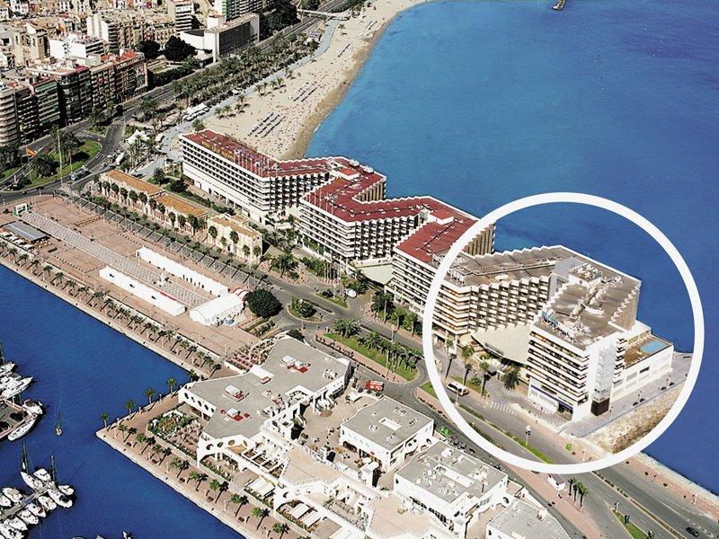 hoteles alicante cerca del puerto