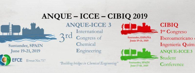 Programa de Becas para la asistencia a la Student Conference del 3rd International Congress ANQUE-ICCE  (Santander 2019)