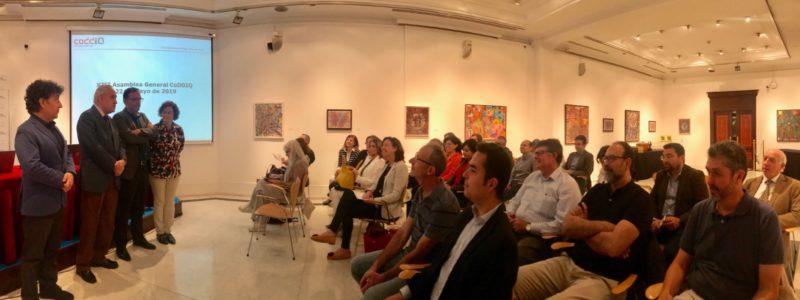 La Conferencia de Directores y Decanos de Ingeniería Química (CODDIQ) celebra su Asamblea General en la Casa de Galicia en Madrid