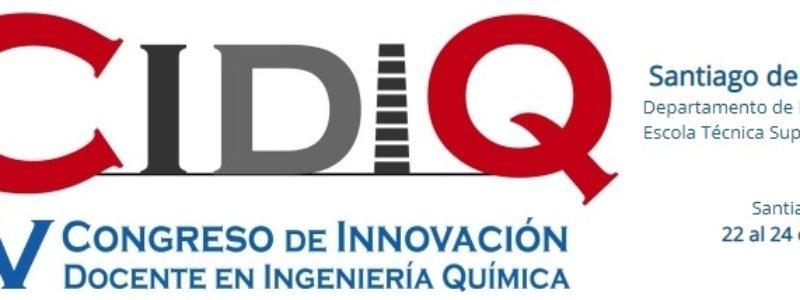 Candidaturas al Programa de Becas para la asistencia al V Congreso de Innovación Docente en Ingeniería Química (CIDIQ)